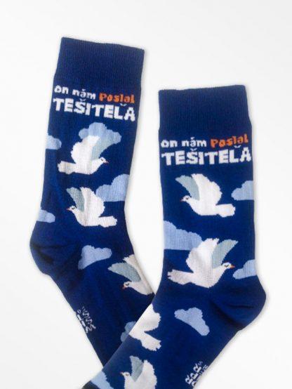 Evabjelizačné ponožky - On nám poslal Tešiteľa