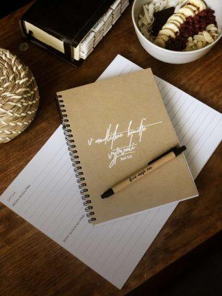 Modlitbebný zápisník - V modlitbe buďte vytrvalí