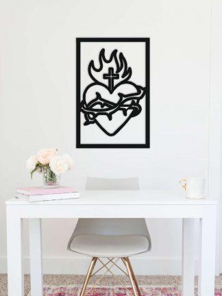 Akrylový obraz - Božské srdce